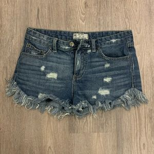 Free People | Fringe Short Shorts